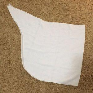 White sheer beach sarong
